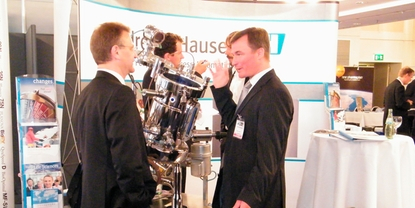 Life Science industrimesse, Endress+Hauser