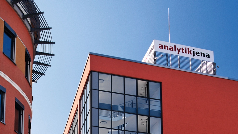 Analytik Jena headquarters in Jena, Germany